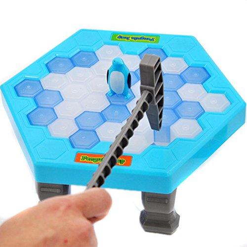 ペンギンアイスキッズパズルゲームブレイクアイスブロックハンマートラップパーティーのおもちゃを保存