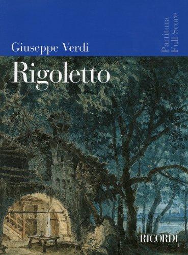 ヴェルディ: オペラ 「リゴレット」/リコルディ社/全曲版スコア