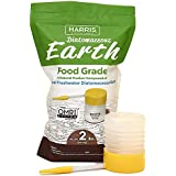 Harris DE-FG2P Diatomaceous Earth Food Grade, 2lb with Included in The Bag, White