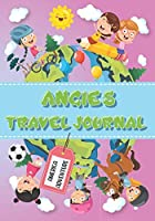 Angie's Travel Journal: Personalised Awesome Activities Book for USA Adventures