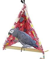やみどり 鳥 ブランコの巣  インコ オウムテントスタンド
