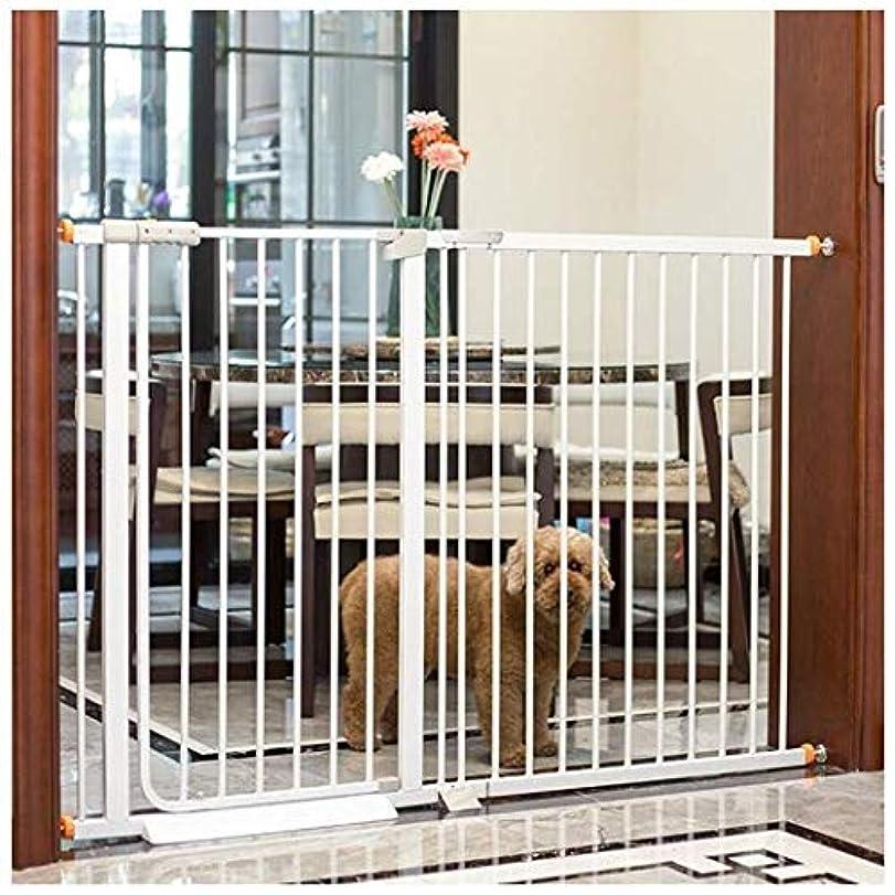 取る時々時々乱雑な安全ドア ガードレールベビーゲートペットゲートパンチフリードアバー、ブロック犬犬ペットドア階段子セキュリティフェンススルー分離猫フェンスウォーク 赤ちゃんの安全ドア (Color : High103cm Width, Size : 76-83cm)