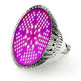Esbaybulbs 100W相当 LED植物育成ライト E26口金 フルスペクトラム LED電球 150個LED プラントライト 植物育成用ランプ 水耕栽培ライト 室内用ライト 省エネ 長寿命 ガーデニング 家庭菜園 園芸用品