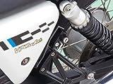 ベビーフェイス(BABY FACE) ヘルメットロック MOTOGUZZI V7 08- ブラック 009-LCMG1BK