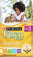 Purina Kitten Chow Dry Kitten Food, Nurture, 3.15 Pound Bag by Purina Cat Chow