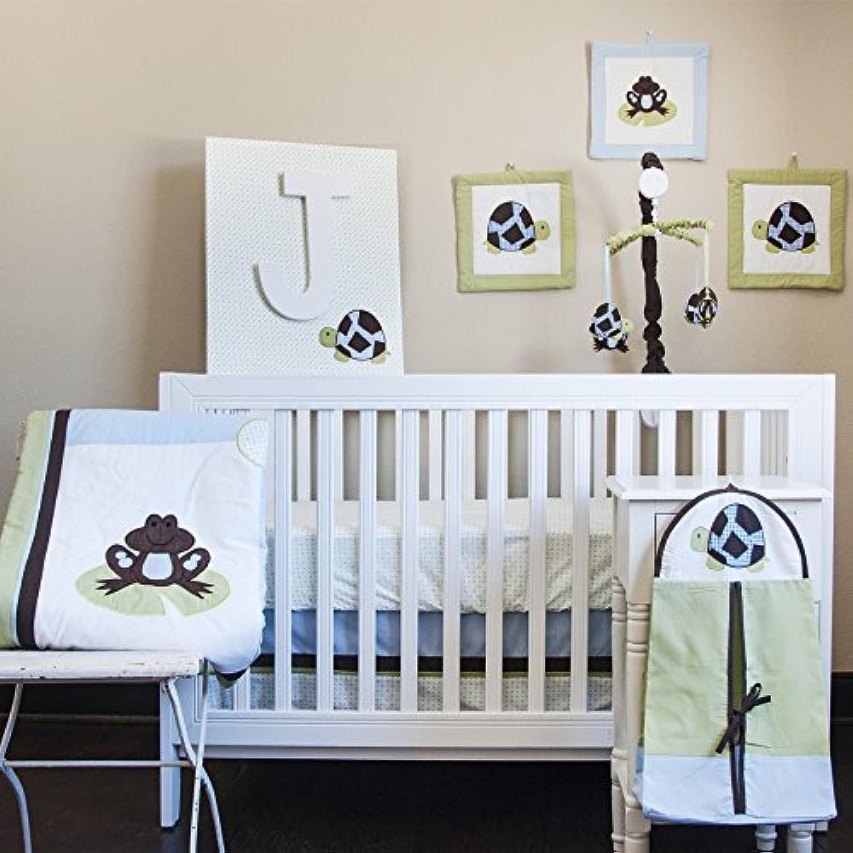 Pam Grace Creations 10 Piece Crib Bedding Set, Mr. & Mrs. Pond [並行輸入品]