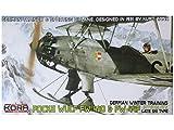 コラモデルス 1/72 ドイツ軍 フォッケウルフ Fw44D/F ルフトバッフェ 後期型スキー付 プラモデル KORPK72048