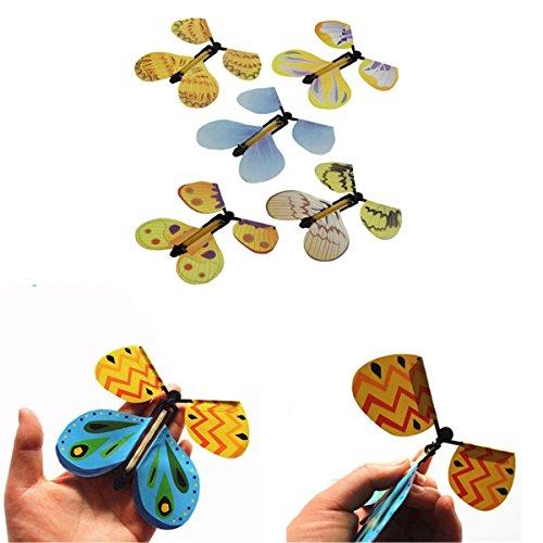 LZROL 蝶 玩具 手品 道具 蝶を飛んでる 大人 子供 面白い