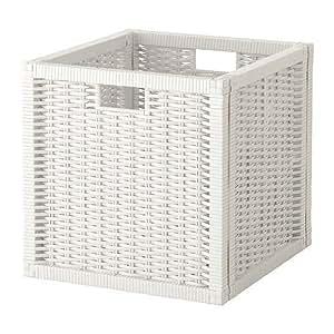 ★ブラネース / BRANAS バスケット / ホワイト(32*35*32)[イケア]IKEA(10196775)
