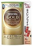 ネスカフェ ゴールドブレンド エコ&システムパック 110g(ブライトスティック2P付)×12個