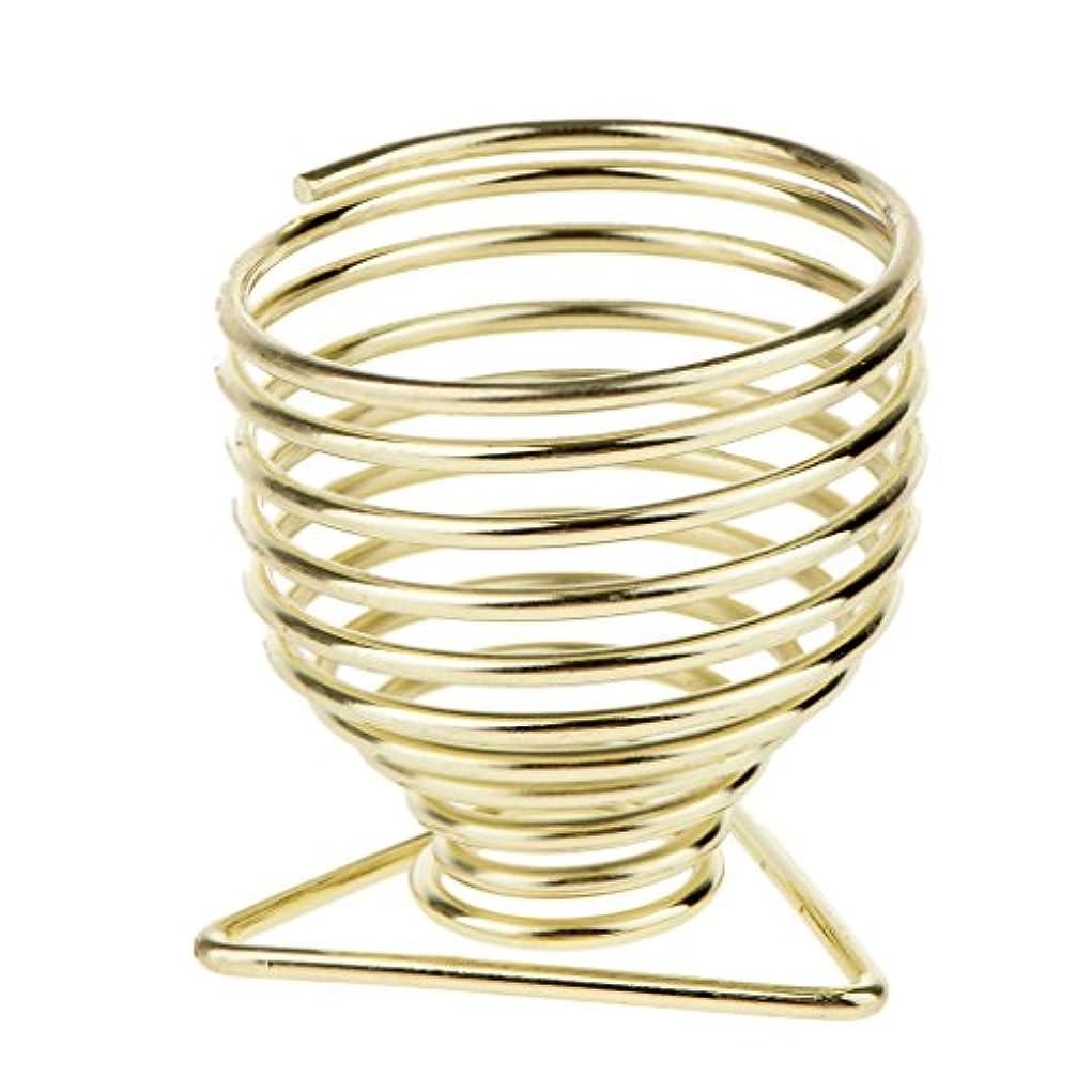 ビル矩形許すBlesiya メイクアップスポンジホルダー スポンジホルダー 化粧パフ ブレンダー 保存スタンド 乾燥スタンド 2色選べる - ゴールド