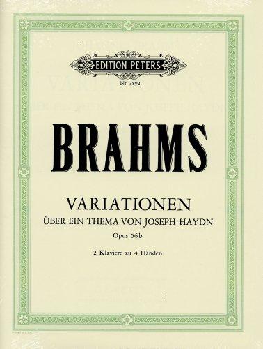 ブラームス : 2台のピアノのためのハイドンの主題による変奏...