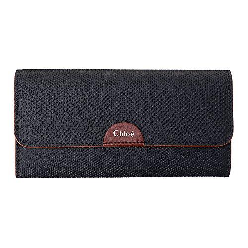クロエ Chloe 3P0153 833 001 BEA 折長財布 BLACK [並行輸入品]