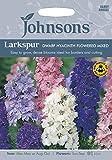 JOFL 英国ジョンソンシード Larkspur Dwarf Hyacinth Flowered Mixed ラークスパー・ヒヤシンス・ドワーフ