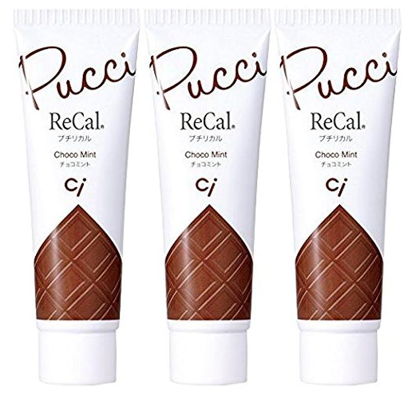 重要性入口悲惨プチリカル チョコミント 3本