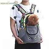 【Momugs Akira】猫用 犬用カバン ハンドバッグ 軽い 人気ペット鞄  リュック おしゃれ リュック  中型犬 携帯しやすい アウトドア 旅行 お出かけ便利 ペットバッグ