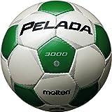 molten(モルテン) サッカーボール サッカーボール ペレーダ3000 5号 白緑 F5P3000-WG