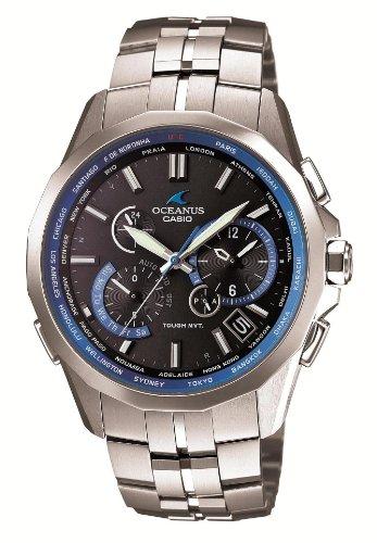 [カシオ]CASIO 腕時計 OCEANUS Manta オシアナス マンタ スマートアクセス搭載 世界6局対応電波ソーラーウォッチ マスコミモデル 3年保証 OCW-S2400-1AJF メンズ