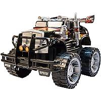 TukTek Kids First Super Monster Toy Truck Friction Push Jacked Up Racer for Boys & Girls
