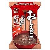 【アマノフーズのフリーズドライ】おしるこ 10袋 (北海道産小豆を使用)