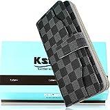 e57b10f626cb Kstarplus 財布 レディース 長財布 人気 ブランド 大容量 取り出しやすい 小銭入れ 長財布 レディース
