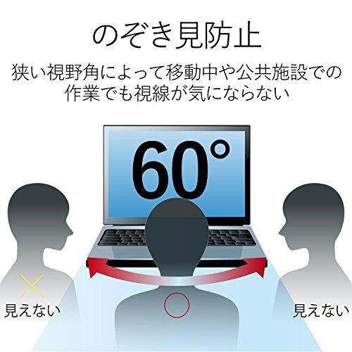 エレコム 液晶保護フィルム 日本製 覗き見防止 17 インチ EF-PFS17