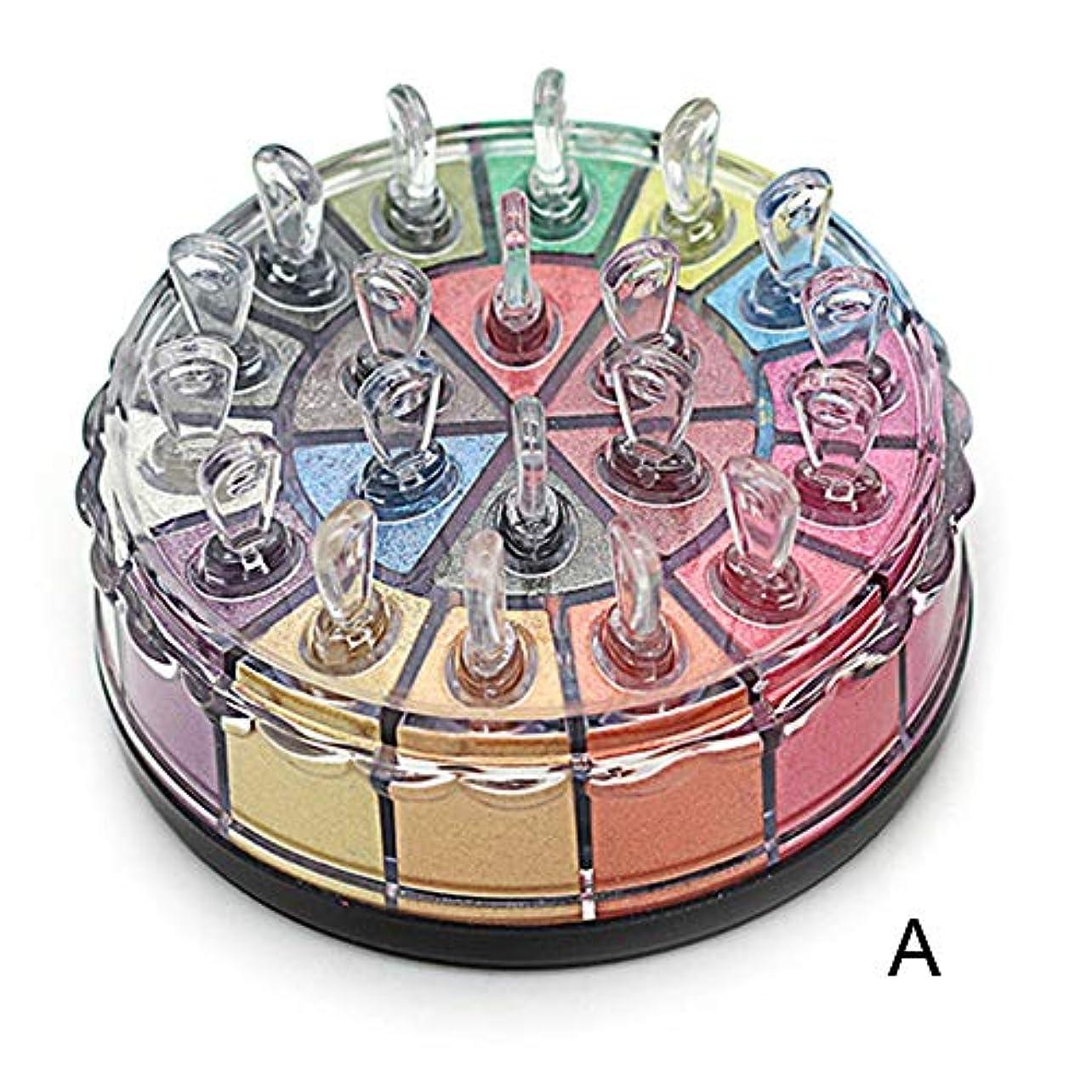 柔らかい足掃除独裁1個20色アイシャドウパレットmaquiagemシマーキラキラアイシャドウパウダーパレットマットアイシャドウ化粧品メイクアップキット (Color : A)