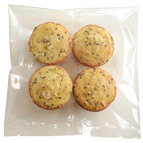 グルテンフリー 天然酵母 米粉パン 黒ゴマ 4個セット gluten free bread
