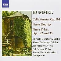 Hummel: Cello Sonata, Piano Trios