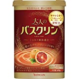 大人のバスクリン入浴剤 豊かなブラッドオレンジの香り600g(約30回分) リラックス にごりタイプ