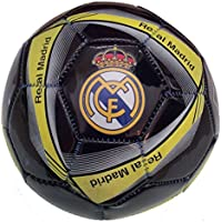 Real Madrid Official Licensedサイズ2サッカーボールwith Net Included – ブラック