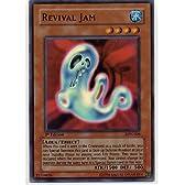 遊戯王(英語表記) REVIVAL JAM【リバイバルスライム】 1STEdition スーパーレア(LON-006)