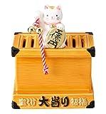 開運 賽銭箱の宝くじバンク (宝くじスタンド付き) SAN1536