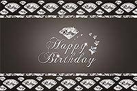 AOFOTO ビニール製 大人 誕生日 背景 男性 女性 誕生日 バックゴランド
