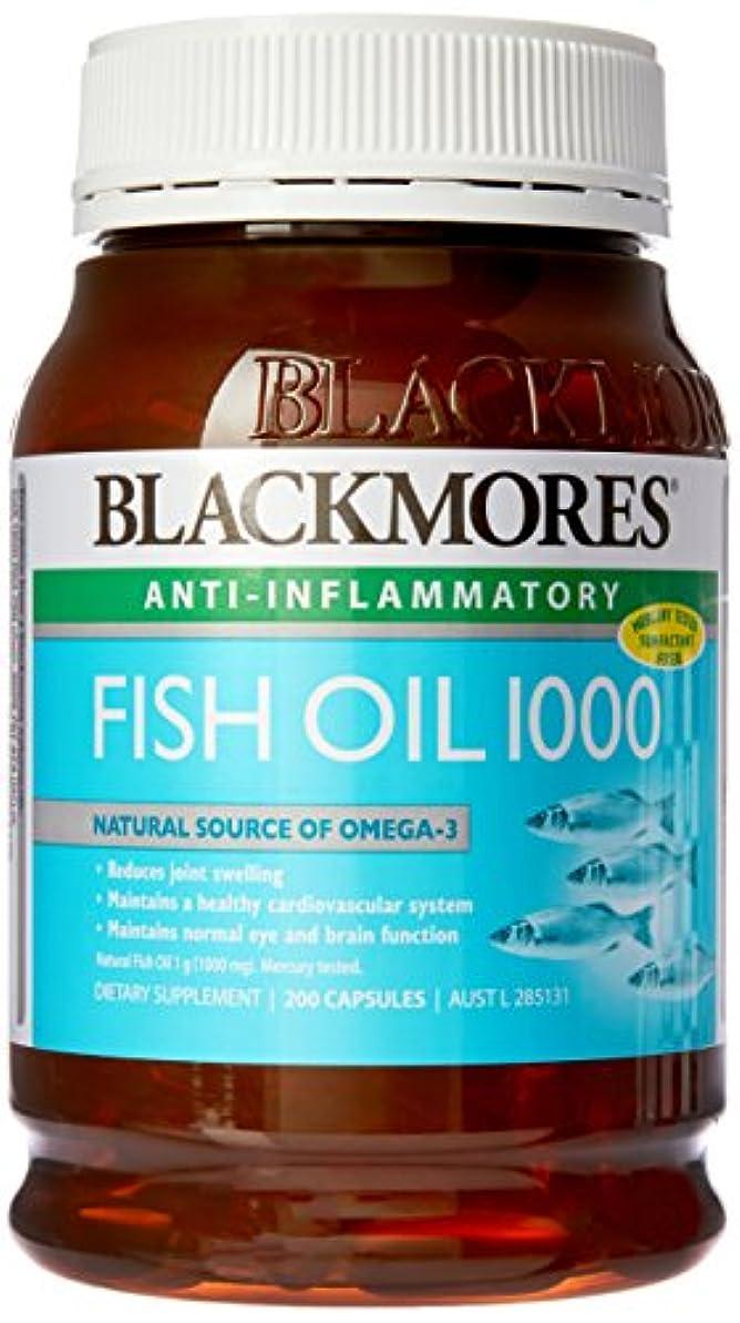 小道超高層ビル不信[BLACKMORES] フィッシュオイル 1000 (FISH OIL 1000) 200粒 [海外直送品]