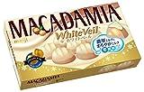 明治 マカダミアチョコレートホワイトベール 9粒×10箱