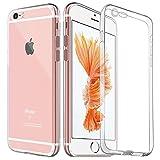 iPhone6s Plus ケース / iPhone6 Plus ケース TPU 【COOLOO】防塵 極薄 高透明度 ソフト クリア バンパー 最軽量 落下防止 一体型 人気 オシャレ アイフォン 6s プラス / アイフォン6 プラス 用 (クリア)