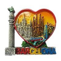 Spainスペイン 世界 3D 樹脂冷蔵庫マグネット コレクション 旅行 お土産 観光客 ギフト 家庭 キッチン 装飾 磁気ステッカー