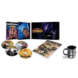 【Amazon.co.jp限定】アベンジャーズ/インフィニティ・ウォー 4K UHD MovieNEXプレミアムBOX(数量限定) オリジナルマグカップ付 [4K ULTRA HD + 3D + Blu-ray + デジタルコピー+MovieNEXワールド]