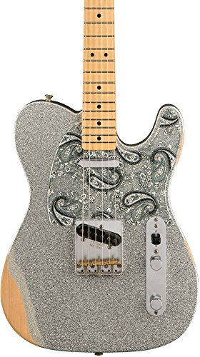 Fender / Brad Paisley Road Worn Telecaster Silver Sparkle フェンダー