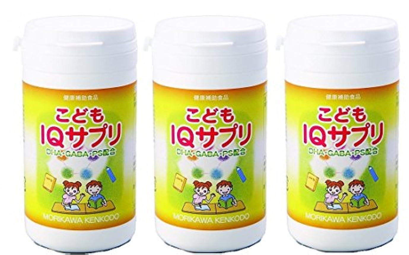 六カッターポーズ【お買い得】こどもIQサプリ 54g 3個セット