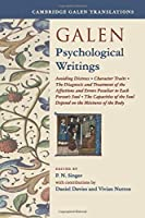 Galen: Psychological Writings (Cambridge Galen Translations)