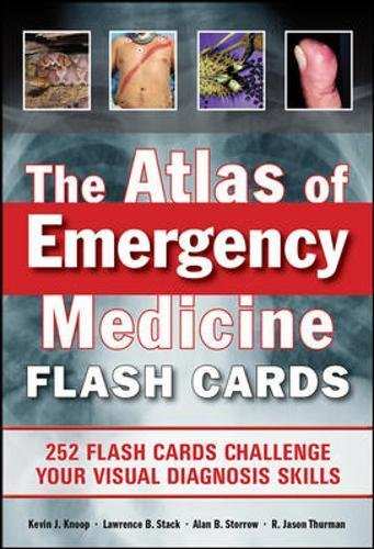 Download The Atlas of Emergency Medicine Flashcards 007179400X