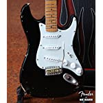 Axe Heaven Eric's Signature Vintage Blackie Fender™ Strat™ Miniature Guitar Replica - Officially Licensed [並行輸入品]