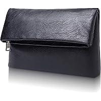 [Libra] クラッチバッグ メンズ セカンドバッグ レザー 二つ折り ハンドバッグ