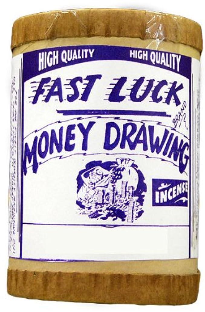 授業料円形の面Fast Luck Money Drawing Powdered Incense 4オンス