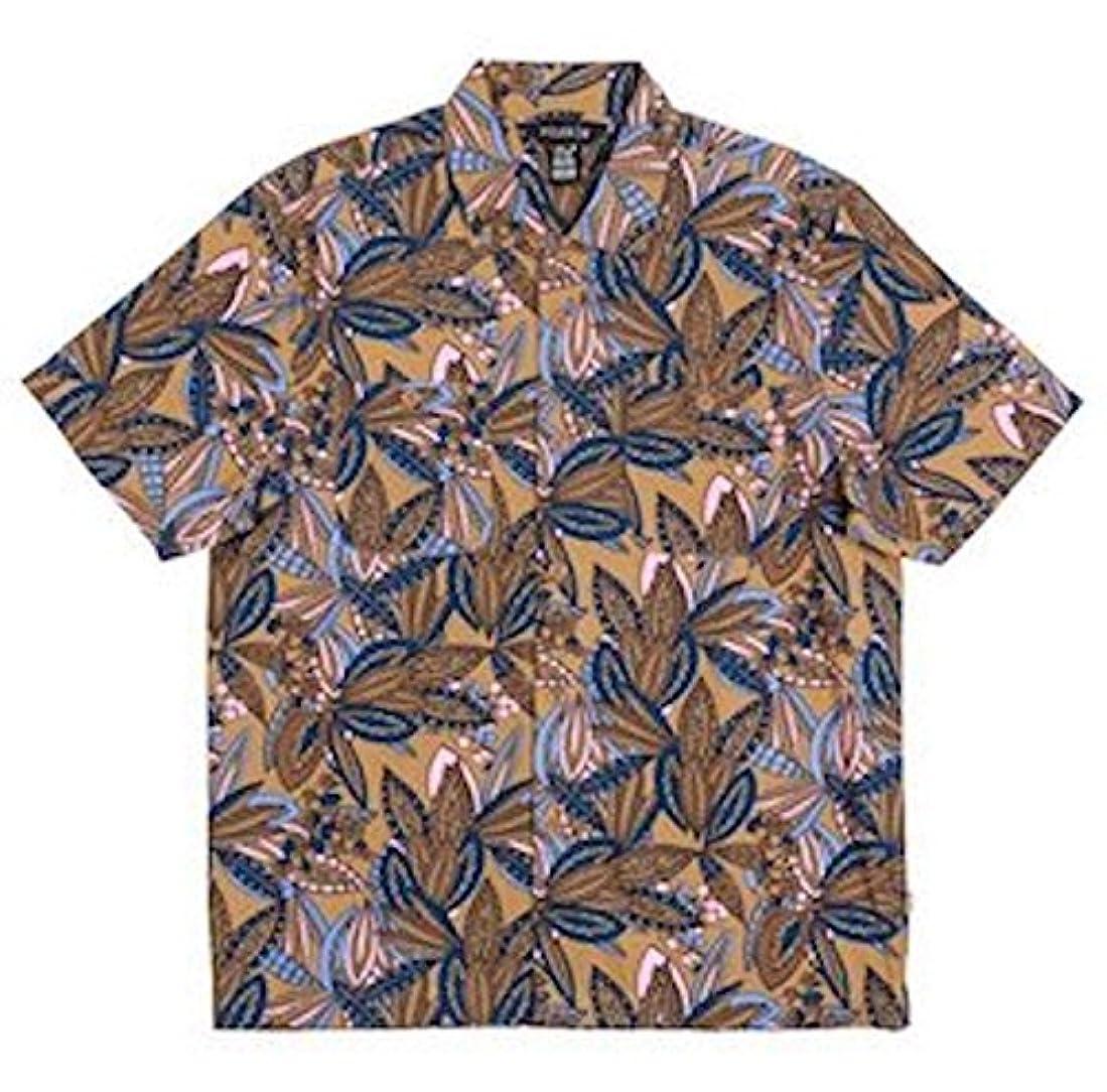 否認するめったに無しPoler Jurassic S/S Woven Shirt Brown S シャツ 並行輸入品