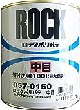 ロックペイント ロック金属用ポリパテ 中目 薄付け用 1Kg 057-0150-03