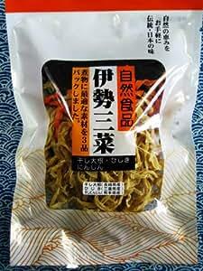 伊勢三菜 60g ひじの煮物、ひじきのハリハリ漬けに!
