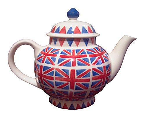 英国輸入【Union Jack Teapot/Emma Bridgewater】エマブリッジウォーター ユニオンジャック ティーポット [並行輸入品]